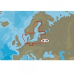 Merekaardid C-MAP Baltic Sea and Denmark