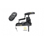 "Electric Bow Mount Remote Control MINN KOTA Ulterra-112 iPilot, US2 sonar, 60"" leg, 36V, Bluetooth, Wired Foot Control, black, fresh water"