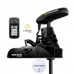 "Electric Bow Mount Remote Control MINN KOTA Ulterra-80 iPilot Link, Mega Down sonar, 60"" leg, 24V, Bluetooth, Wired Foot Control, black, fresh water"