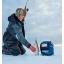 """Kajaloodikott jääanduriga LOWRANCE kuni 7"""" Elite/Hook kajaloodidele, komplektis kott, aku, laadija, jääandur PPP-18i"""