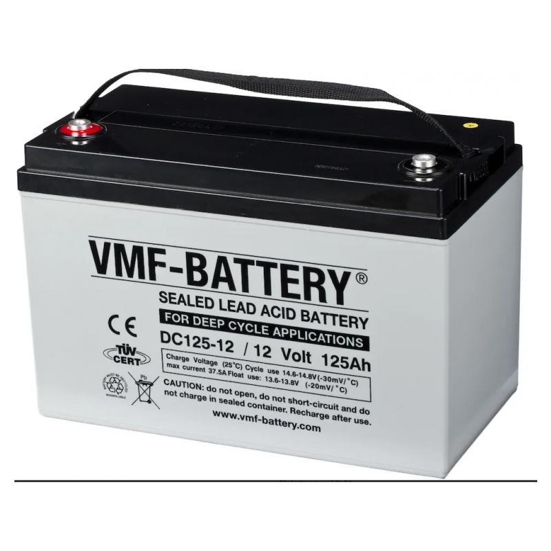 AGM-aku VMF-Battery DC125-12 125Ah 12V