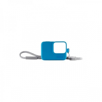 Safety cover GOPRO Sleeve + Lanyard, blue