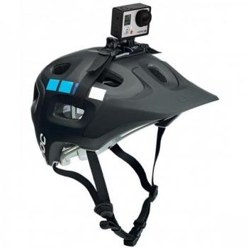 Helmet mount GOPRO vented helmet strap mount