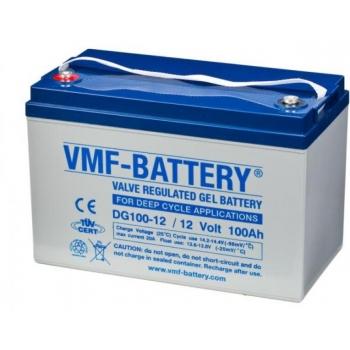 Geel-aku VMF-Battery DG100-12 100Ah 12V