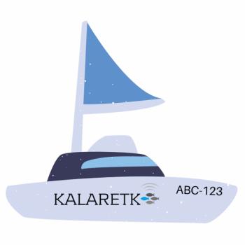 Paadi, väikelaeva või jeti registreerimisnumbrid