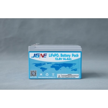 Lithium battery JGNE Goldencell LiFePO4 14,4Ah 12V