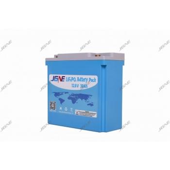 Литиевый аккумулятор JGNE Goldencell LiFePO4 30Ah 12V