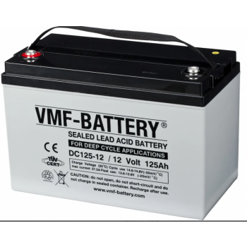 AGM battery VMF-Battery DG125-12 125Ah 12V