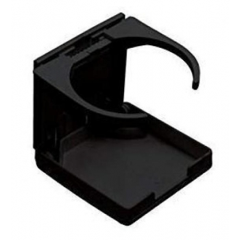Glass holder, foldable, black