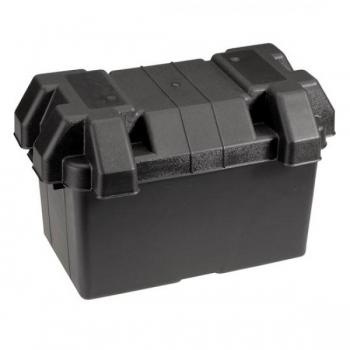 Akukast plastist must, suur, sobib kuni 100Ah kestvusakudele
