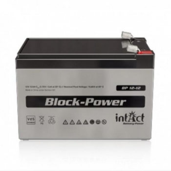 Kuivaku INTACT Block-Power Bp12-12 12Ah 12V kajaloodile