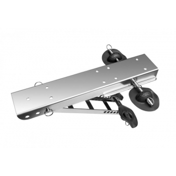 Anchor winch mount for STRONGER winches in  PVC or other inflatable boats