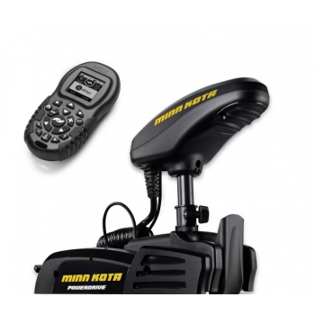 Electric Bow Mount Remote Control MINN KOTA Powerdrive-55 iPilot, US2, 54'' leg, 12V, Bluetooth, remote control, wired foot control, black, fresh water