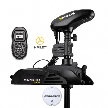 Electric Bow Mount Remote Control MINN KOTA Terrova-55 iPilot, 54'' leg, 12V, Bluetooth, remote control, black, fresh water