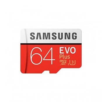Mälukaart microSDXC SAMSUNG Evo Plus 64GB Class 10 UHS-I U3