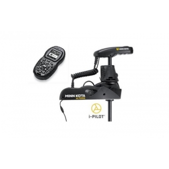 "Electric Bow Mount Remote Control MINN KOTA Ulterra-80 iPilot, Mega Down sonar, 45"" leg, 24V, Bluetooth, Wired Foot Control, black, fresh water"
