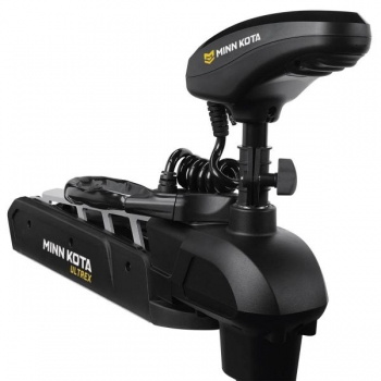 "Electric Bow Mount Remote Control MINN KOTA Ultrex-112 iPilot, US2 sonar, 45"" leg, 36V, Bluetooth, black, fresh water"