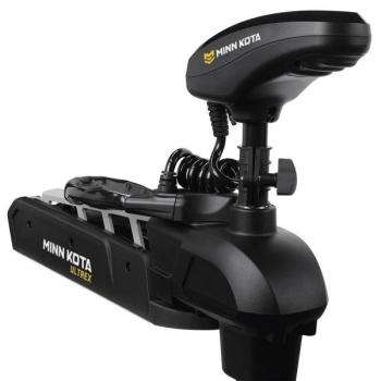 """Электрический кормовой ГПС мотор MINN KOTA Ultrex-112 iPilot, US2 дачик, 62"""" нога, 36V, Bluetooth, пульт дистанционного управления, черного цвета, пресная вода"""