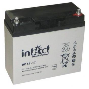 Kuivaku INTACT Block-Power Bp12-17 17Ah 12V kajaloodile