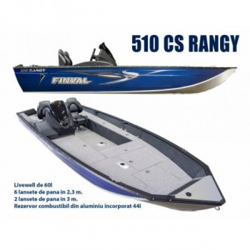 Рыболовный катер FINVAL Rangy 510 SC