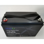 Lithium battery MAXLi LiFePO4 100Ah 12,8V