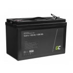 Lithium battery GREEN CELL LiFePO4 100Ah 12V