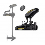 "Electric Bow Mount Remote Control MINN KOTA Powerdrive-45 iPilot, 54"" leg, 12V, Micro remote, Bluetooth, wired foot control, black, fresh water"