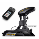 "Electric Bow Mount Remote Control MINN KOTA Terrova-55 iPilot Link, US2, 54"" leg, 12V, Bluetooth, remote control, wired foot control, black, fresh water"