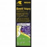 Estonian maps REGIO TOPO (on microSD) - for Garmin GPS-s