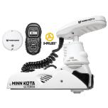 "Electric Bow Mount Remote Control MINN KOTA Riptide Ulterra-80 iPilot, 72"" leg, 24V, Bluetooth, white, salt water"