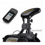 "Electric Bow Mount Remote Control MINN KOTA Terrova-112 iPilot Link, Mega Down sonar, 60"" leg, 36V, Bluetooth, Wired Foot Control, black, fresh water"