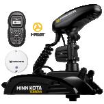 "Electric Bow Mount Remote Control MINN KOTA Terrova-112 iPilot, Mega Down sonar, 60"" leg, 36V, Bluetooth, Wired Foot Control, black, fresh water"